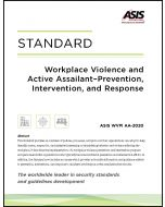 Workplace Violence and Active Assailant - Prevention, Intervention, and Response Standard (Softcover)