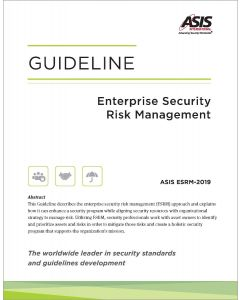 Enterprise Security Risk Management Guideline, 2019 (Softcover)