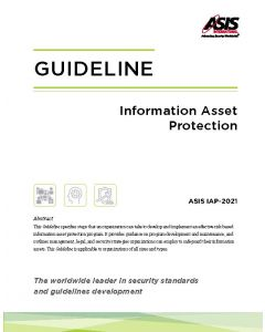 Information Asset Protection E-Book