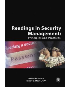 Readings in Security Management: Principles and Practices (Softcover)