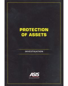 Protection of Assets: Investigations (Softcover)