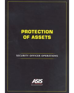 Protection of Assets: Security Officer Operations (Softcover)