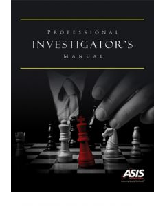 Professional Investigator's Manual (Softcover)