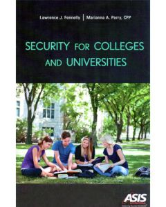 Security for Colleges and Universities (Softcover)