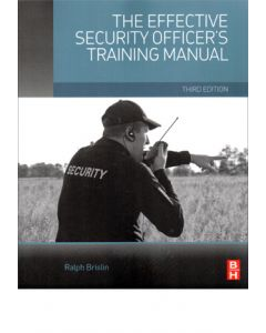 Effective Security Officer's Training Manual (The), 3rd Ed (Softcover)