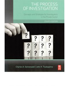Process of Investigation, 4th Ed (Hardcover)