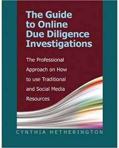 Guide to Online Due Diligence Investigations (The) (Softcover)