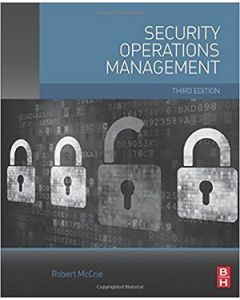 Security Operations Management, 3rd Ed (Softcover)