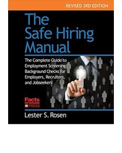 Safe Hiring Manual (The), 3rd Ed (Softcover)