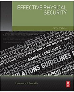Effective Physical Security, 5th Ed (Softcover)
