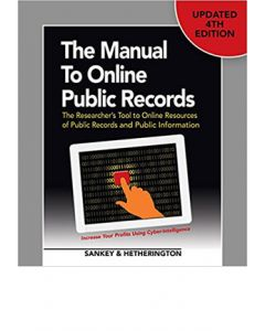 Manual to Online Public Records, 4th Ed (The) (Softcover)