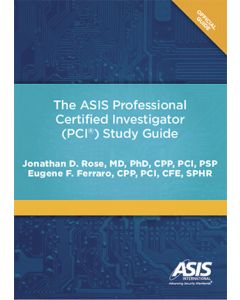 ASIS Professional Certified Investigator (PCI) Study Guide (The) (Softcover)