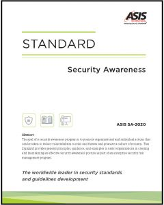Security Awareness Standard (Softcover)