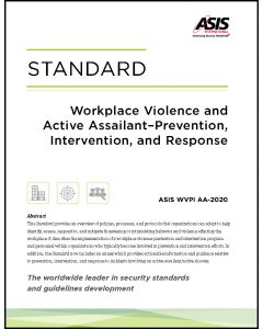 Workplace Violence and Active Assailant - Prevention, Intervention, and Response Standard (E-Book)